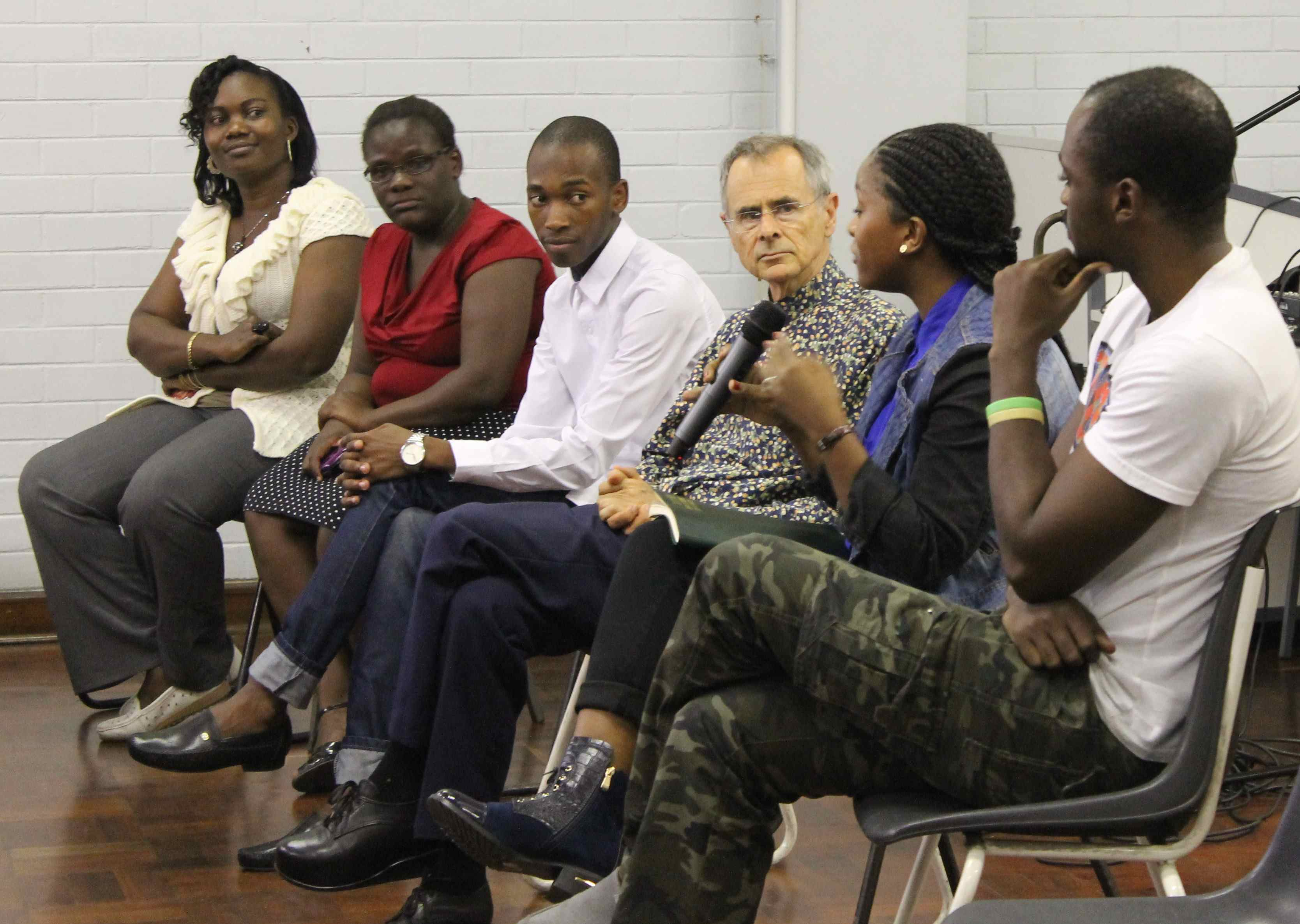 Participants on the panel