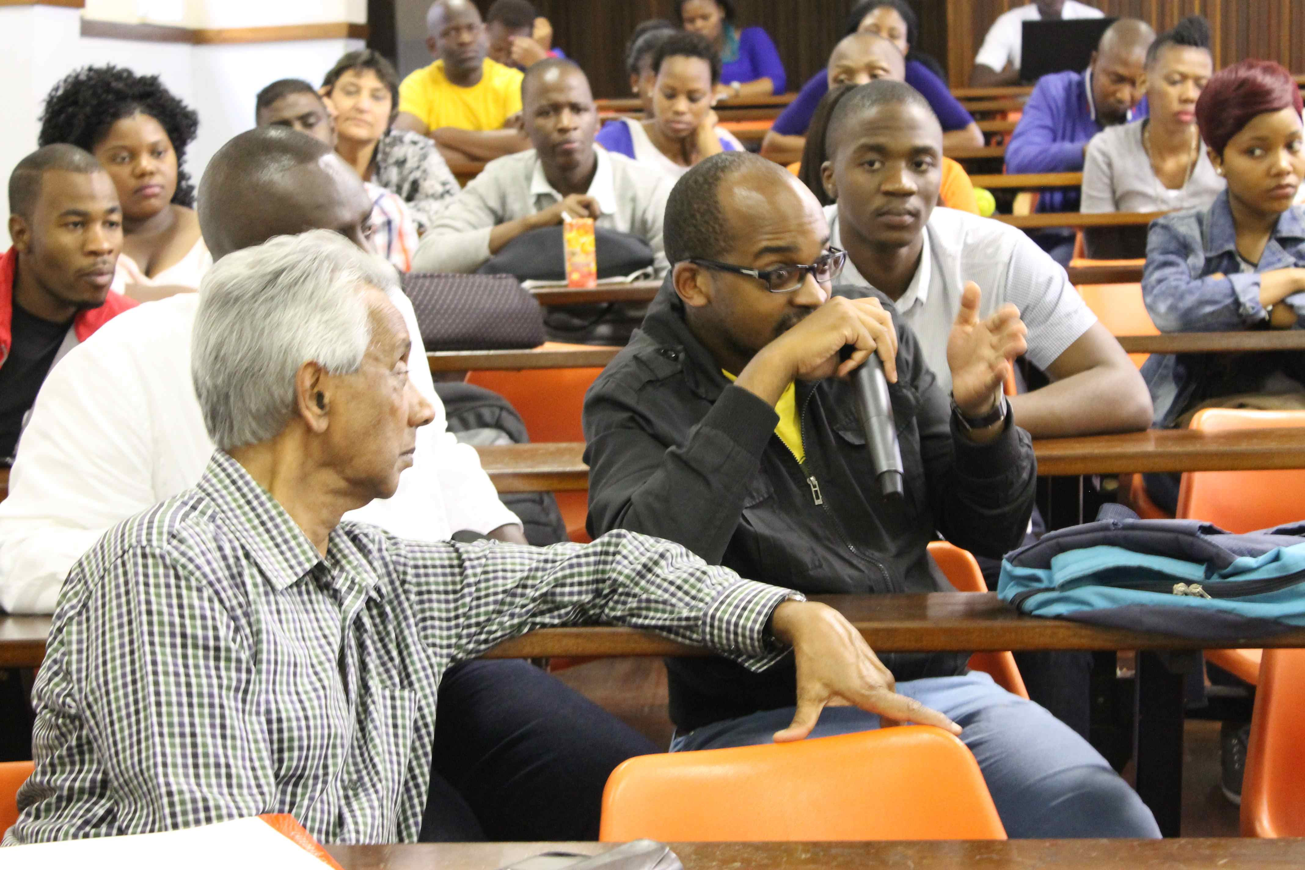Siyondla Sithole speaks on what he termed 'our broken society'