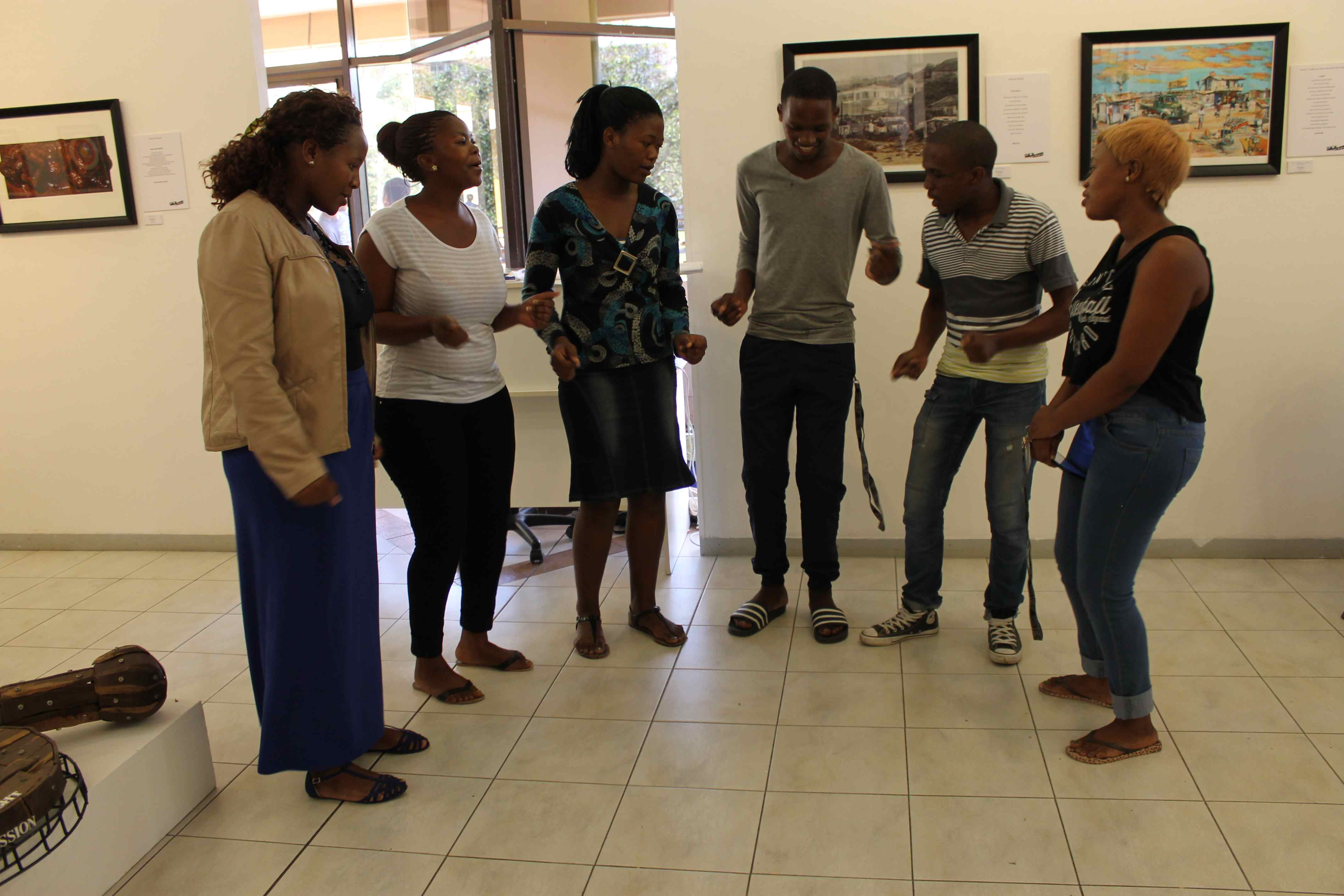 Students sing to challenge stigma related to HIV/AIDS